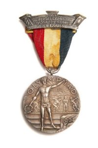 1904 - medalha broche TODOS demais esportes - frente